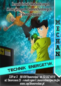 Energetyk wersja niebieska