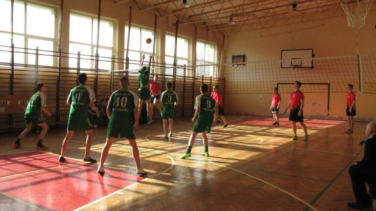 Turniej piłki siatkowej chłopców o Puchar Dyrektora Szkoły